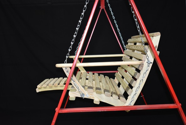 4′ Low Back Porch Swing